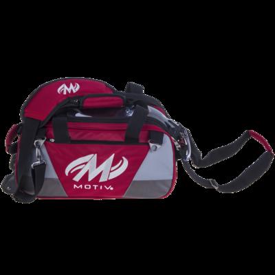 Motiv Ballistix Red 2 Ball Tote Bowling Bag