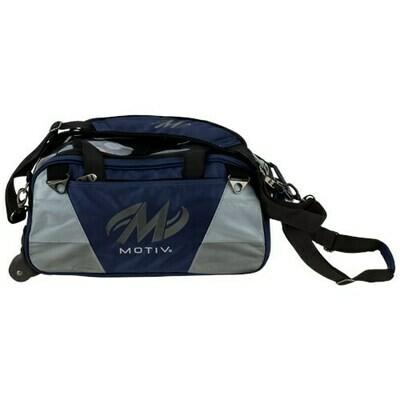 Motiv Ballistix Navy 2 Ball Tote Bowling Bag