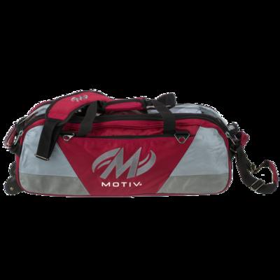 Motiv Ballistix Red 3 Ball Tote Bowling Bag