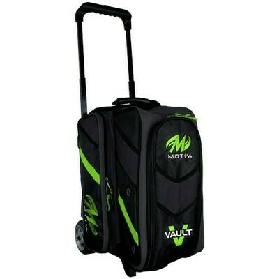 Motiv Vault Lime Green 2 Ball Roller Bowling Bag