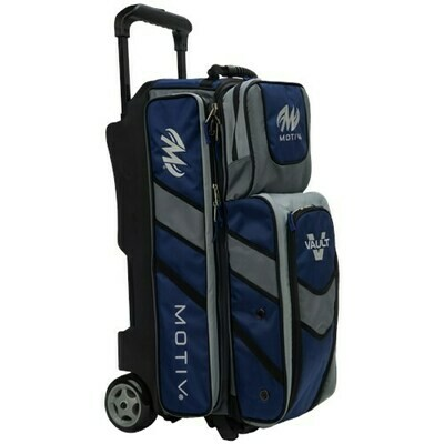 Motiv Vault Navy 3 Ball Roller Bowling Bag