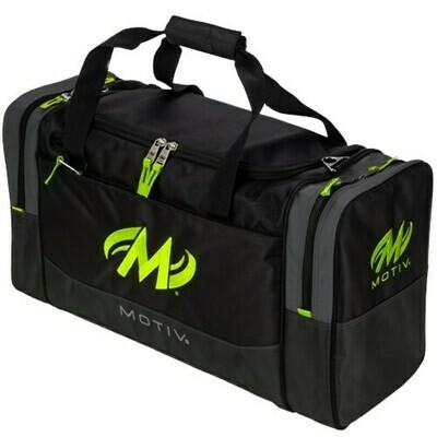 Motiv Shock Double Lime Green 2 Ball Bowling Bag