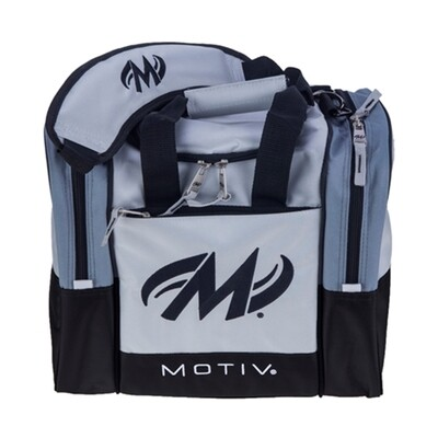 Motiv Shock Single Silver 1 Ball Bowling Bag