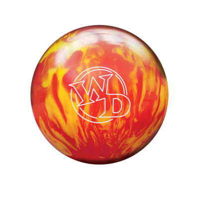 Columbia 300 White Dot Lava Fire Bowling Ball