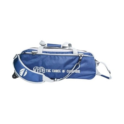 Vise 3 Ball Clear Top Tote Roller Navy/Silver