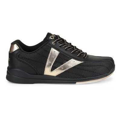 Dexter Vicky Black/Gold Womens Bowling Shoes