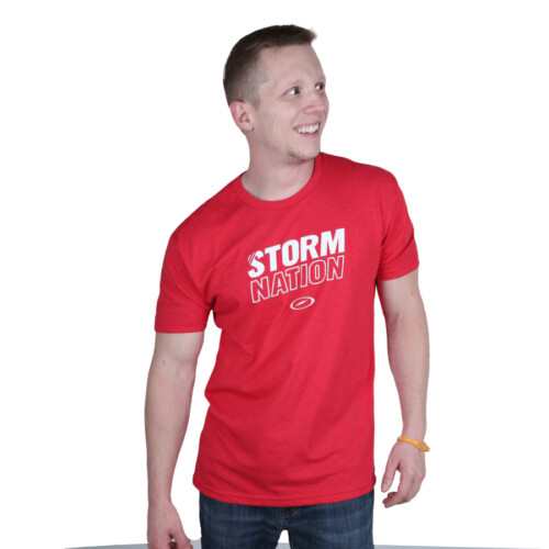 Storm Nation Red Bowling T-Shirt