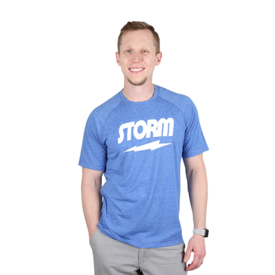 Storm Classic Tee Blue/White Bowling T-Shirt