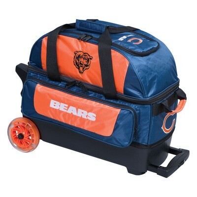 KR Strikeforce NFL Chicago Bears Double Roller Bowling Bag