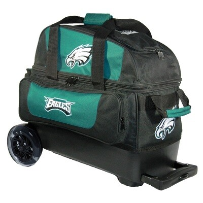 KR Strikeforce NFL Philadelphia Eagles Double Roller Bowling Bag