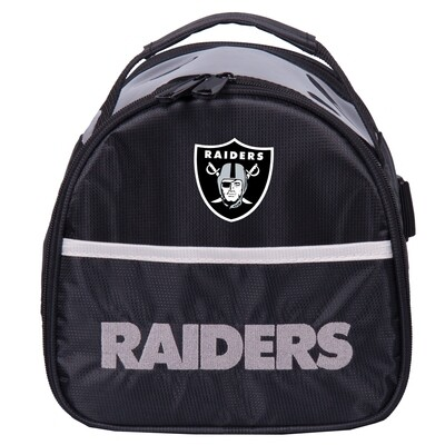 KR Strikeforce NFL Las Vegas Raiders Add On Bowling Bag