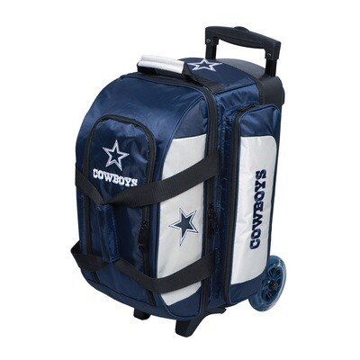 KR Strikeforce NFL Dallas Cowboys Double Roller Bowling Bag