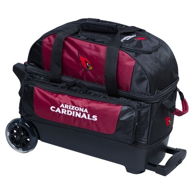 KR Strikeforce NFL Arizona Cardinals Double Roller Bowling Bag