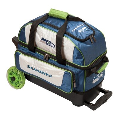 KR Strikeforce NFL Seattle Seahawks Double Roller Bowling Bag