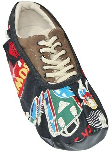 Master Mens Pins Bowling Shoe Covers