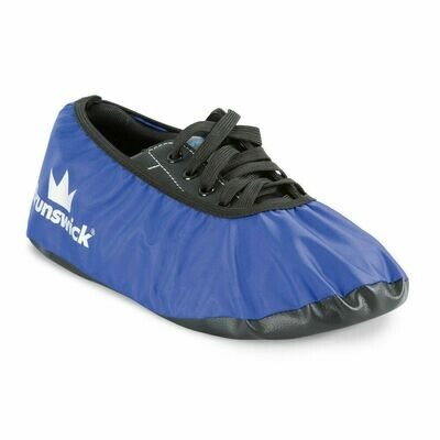Brunswick Blue Bowling Shoe Covers