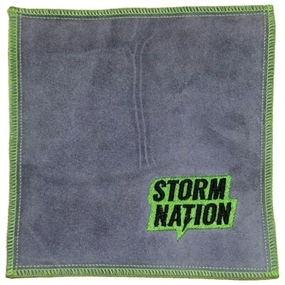 Storm Nation Green/Grey Bowling Shammy