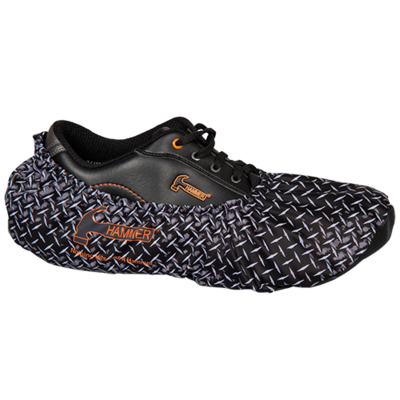 Hammer Diamond Plate Bowling Shoe Covers
