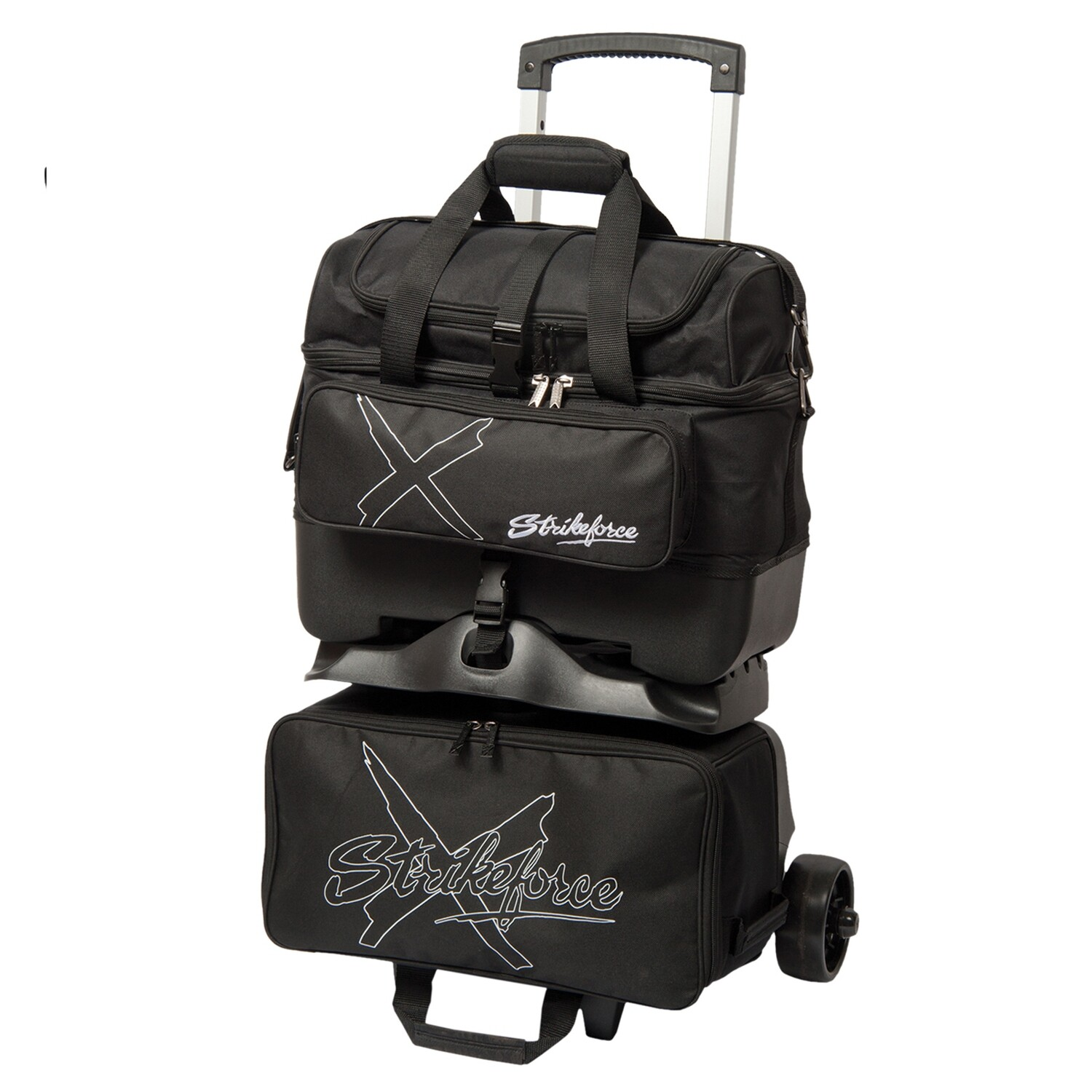 KR Strikeforce Hybrid X Black 4 Ball Roller Bowling Bag
