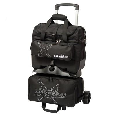 KR Strikeforce Hybrid X Black 4 Ball Roller Bowling Bag