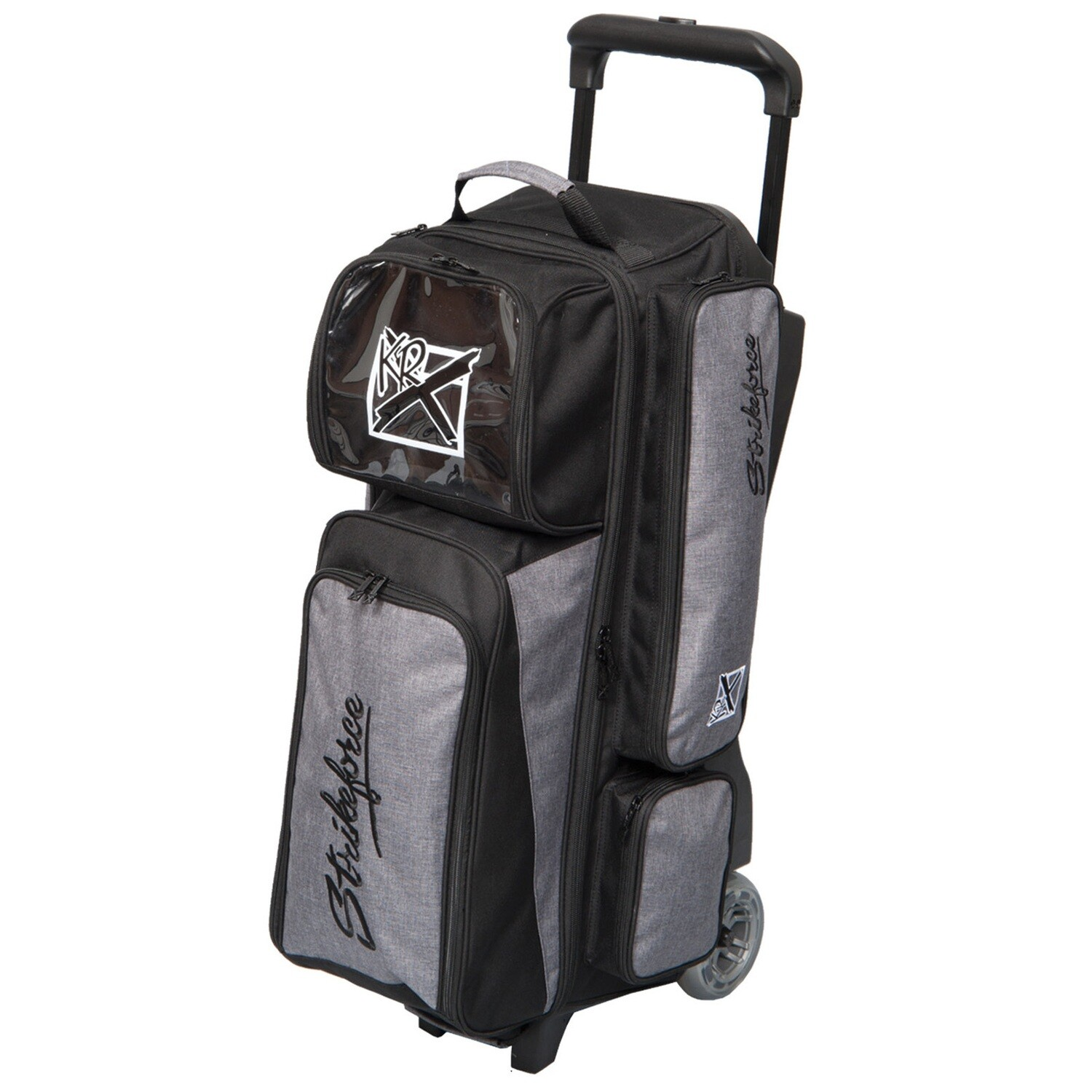 KR Strikeforce KRush Stone/Black 3 Ball Roller Bowling Bag
