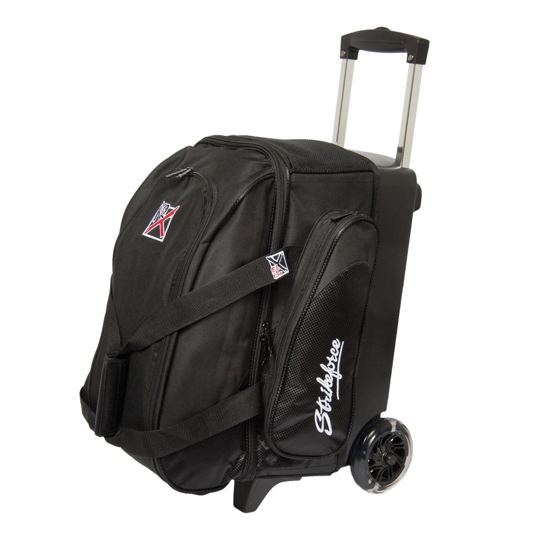 KR Strikeforce Cruiser Black 2 Ball Roller Bowling Bag