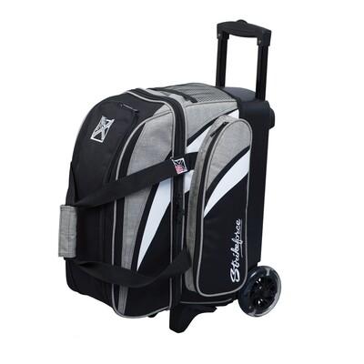 KR Strikeforce Cruiser Stone/Black 2 Ball Roller Bowling Bag