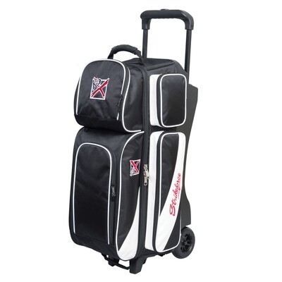 KR Strikeforce Fast Black/White 3 Ball Roller Bowling Bag