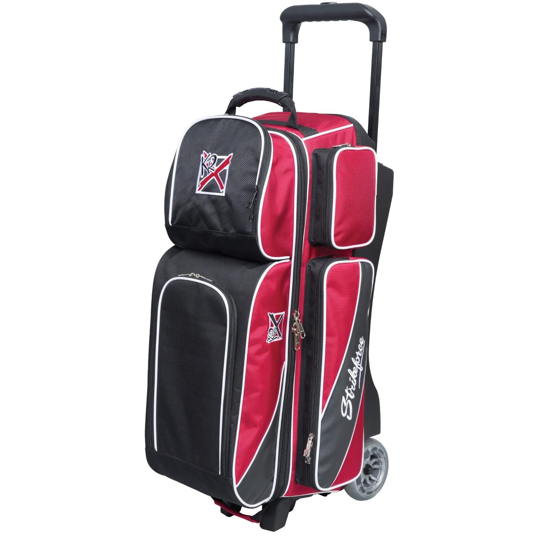 KR Strikeforce Fast Red/Black 3 Ball Roller Bowling Bag
