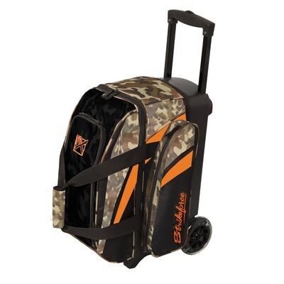 KR Strikeforce Cruiser Camo 2 Ball Roller Bowling Bag