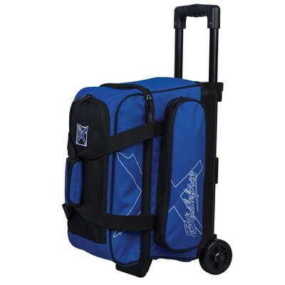 KR Strikeforce Hybrid X Blue 2 Ball Roller Bowling Bag