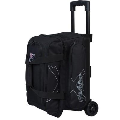 KR Strikeforce Hybrid X Black 2 Ball Roller Bowling Bag
