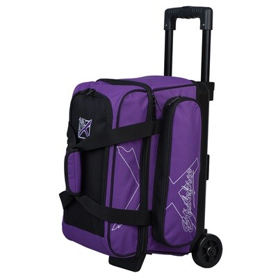 KR Strikeforce Hybrid X Purple 2 Ball Roller Bowling Bag