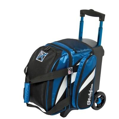 KR Strikeforce Cruiser Royal/White/Black 1 Ball Roller Bowling Bag