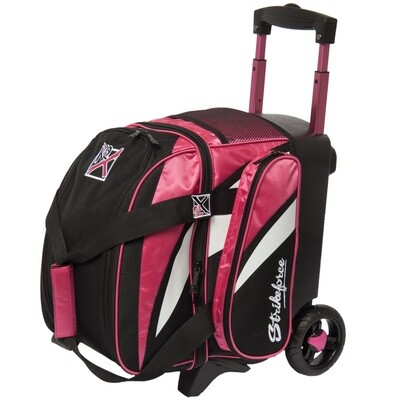 KR Strikeforce Cruiser Pink/White/Black 1 Ball Roller Bowling Bag