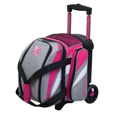 KR Strikeforce Cruiser Stone/Pink 1 Ball Roller Bowling Bag