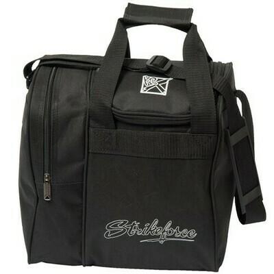 KR Strikeforce Rook Black Single Tote Bowling Bag
