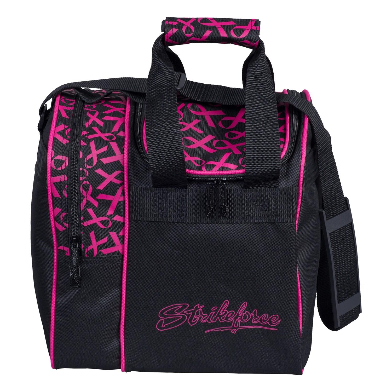 KR Strikeforce Rook Pink Ribbon Single Tote Bowling Bag