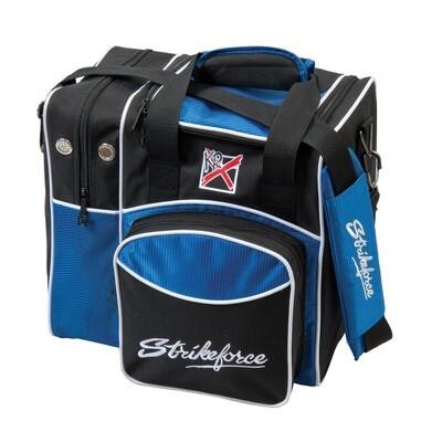 KR Strikeforce Flexx Blue Single Tote Bowling Bag