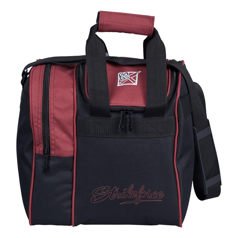 KR Strikeforce Rook Merlot Single Tote Bowling Bag