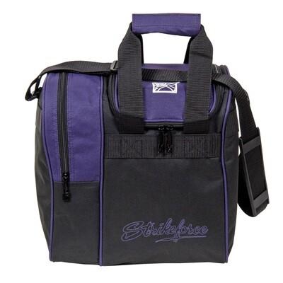 KR Strikeforce Rook Purple Single Tote Bowling Bag