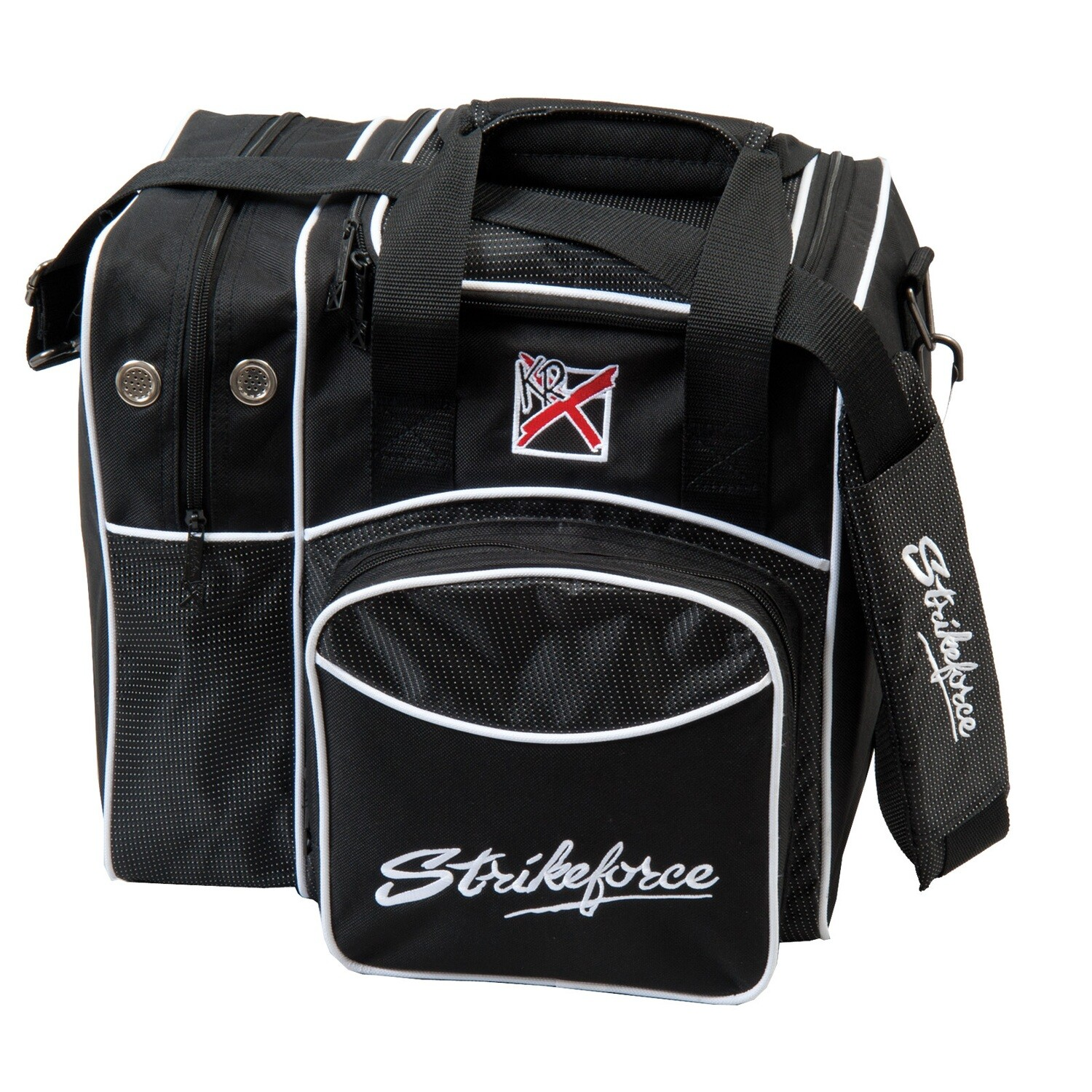 KR Strikeforce Black Flexx Single Tote Bowling Bag