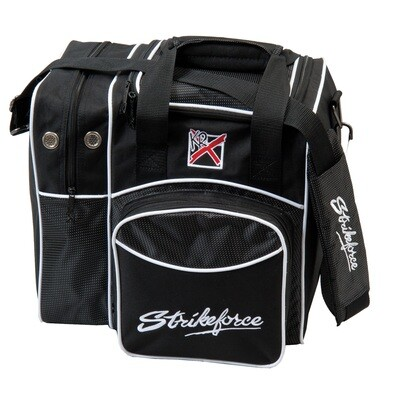 KR Strikeforce Black Flexx Single Tote Bowling Bag