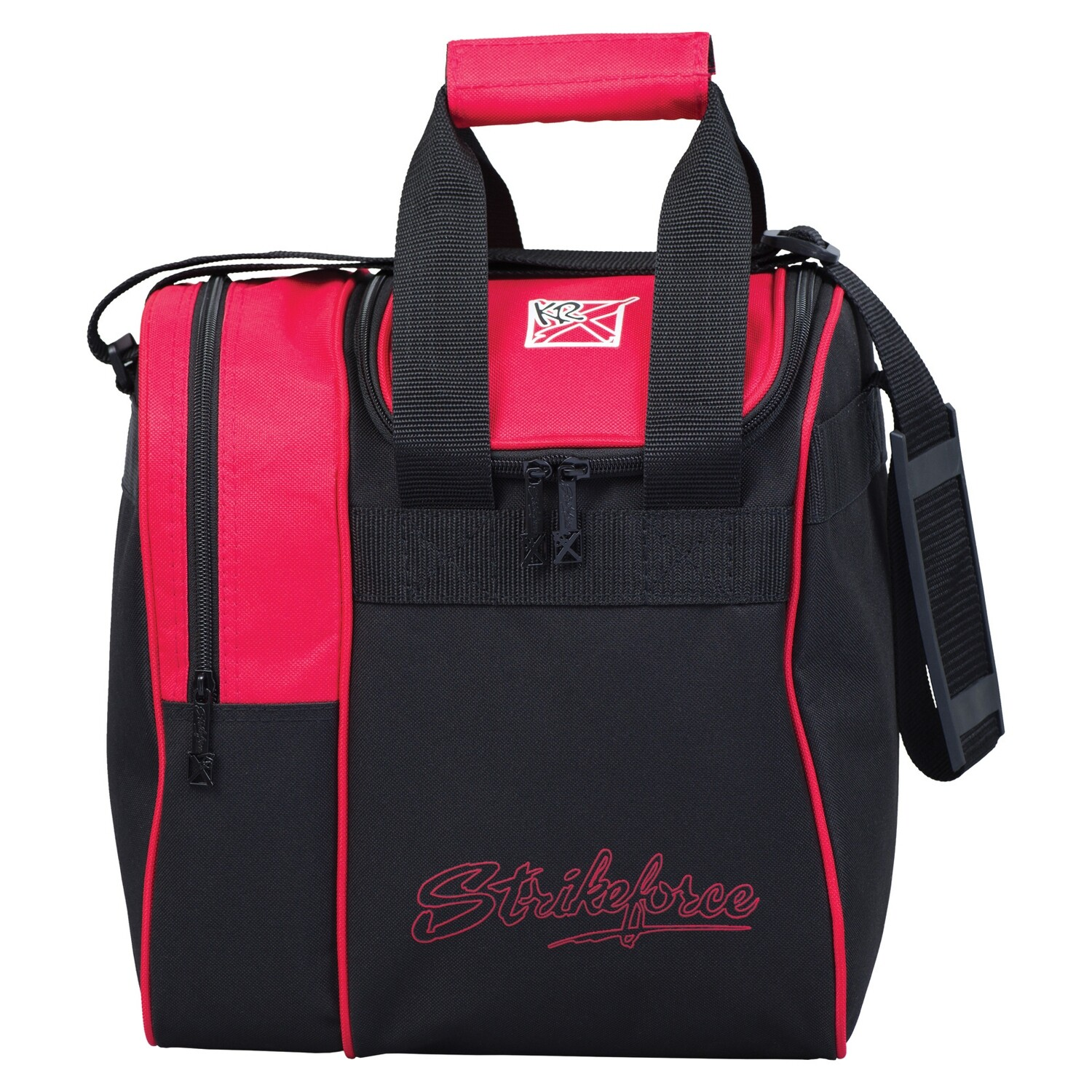 KR Strikeforce Rook Red Single Tote Bowling Bag