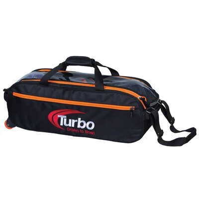 Turbo Pursuit Orange 3 Ball Tote Bowling Bag