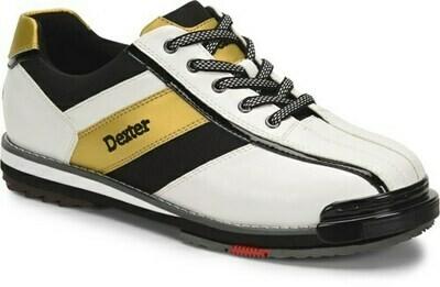 Dexter SST 8 Pro White/Black/Gold Mens Bowling Shoes