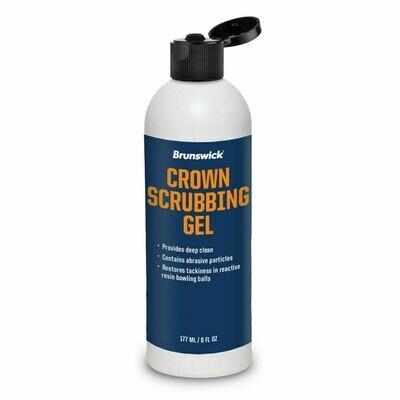 Brunswick Crown Scrubbing Gel Bowling Ball Cleaner 6 oz
