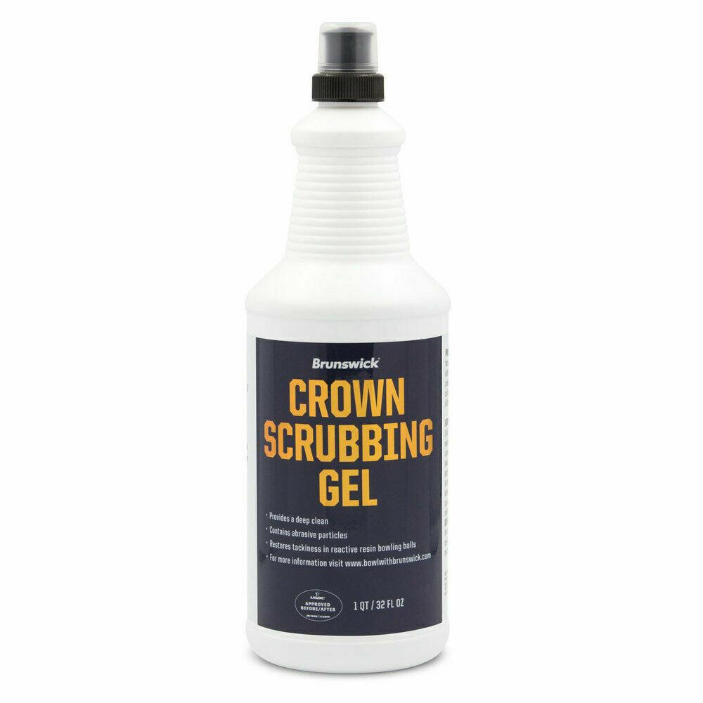 Brunswick Crown Scrubbing Gel Bowling Ball Cleaner 32 oz