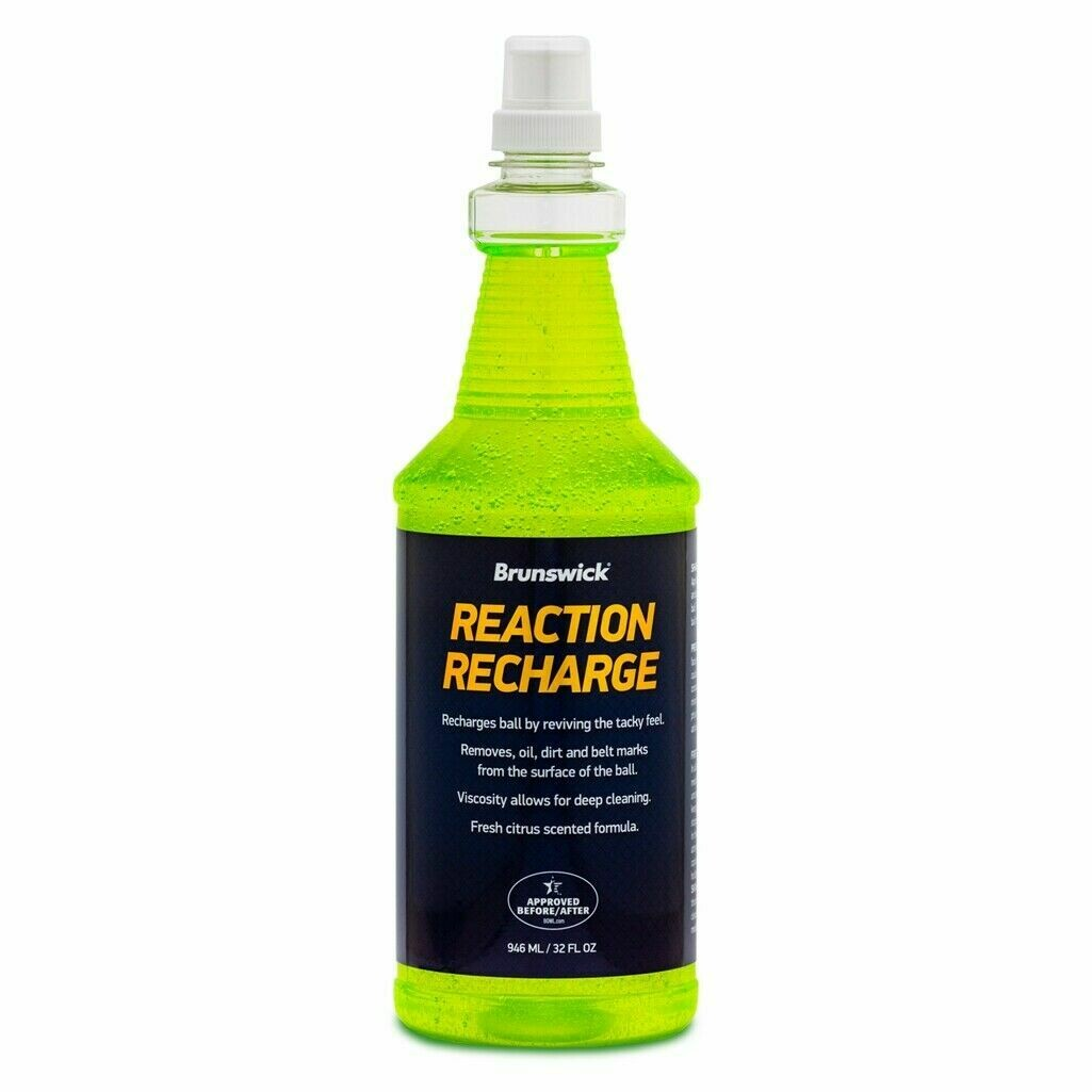 Brunswick Reaction Recharge Bowling Ball Cleaner 32 oz