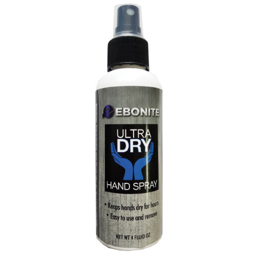 Ebonite Ultra Dry Hand Drying Spray